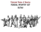Federated States Of America Federal Infantry Set