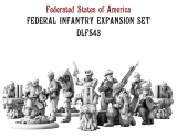 Federated States Of America Federal Infantry Expansion Set
