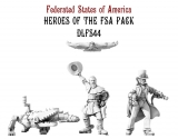 Federated States Of America Heroes of the Empire Set