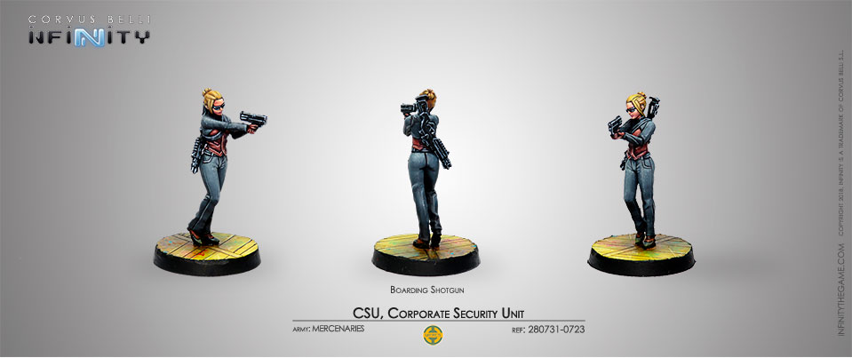 CSU, Corporate Security Unit (Boarding Shotgun)