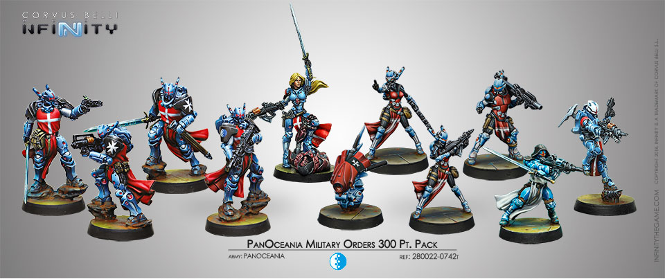 PanOceania Military Orders 300 Pt. Pack