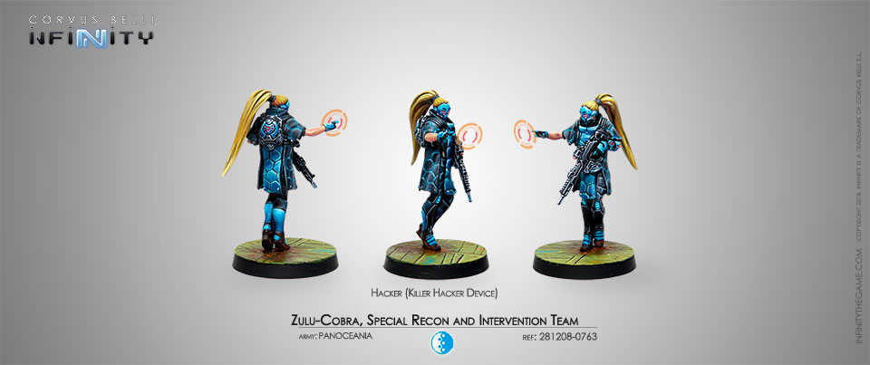 Zulu-Cobra, Special Recon and Intervention Team (Hacker)