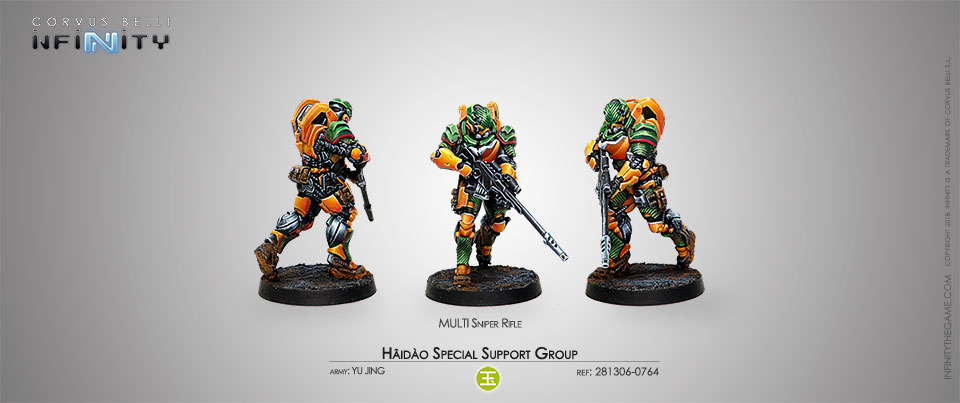 Hâidào Special Support Group (MULTI Sniper Rifle)
