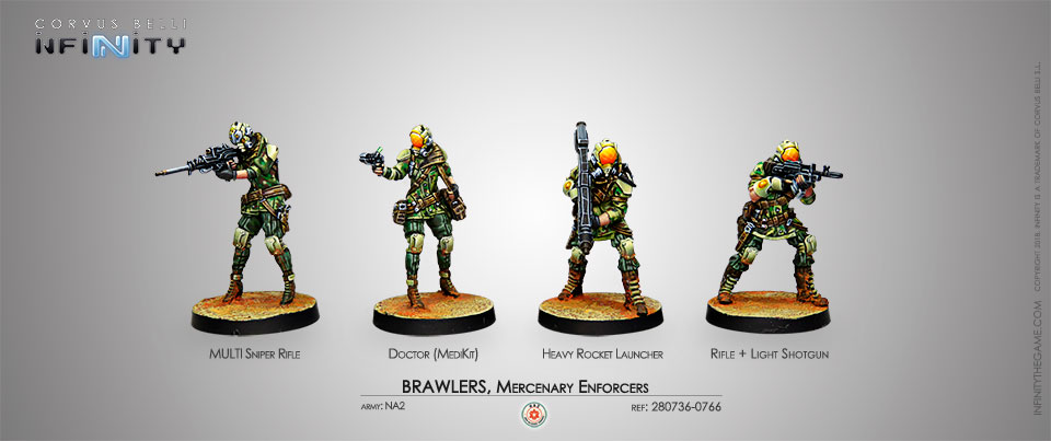 Brawlers, Mercenary Enforcers