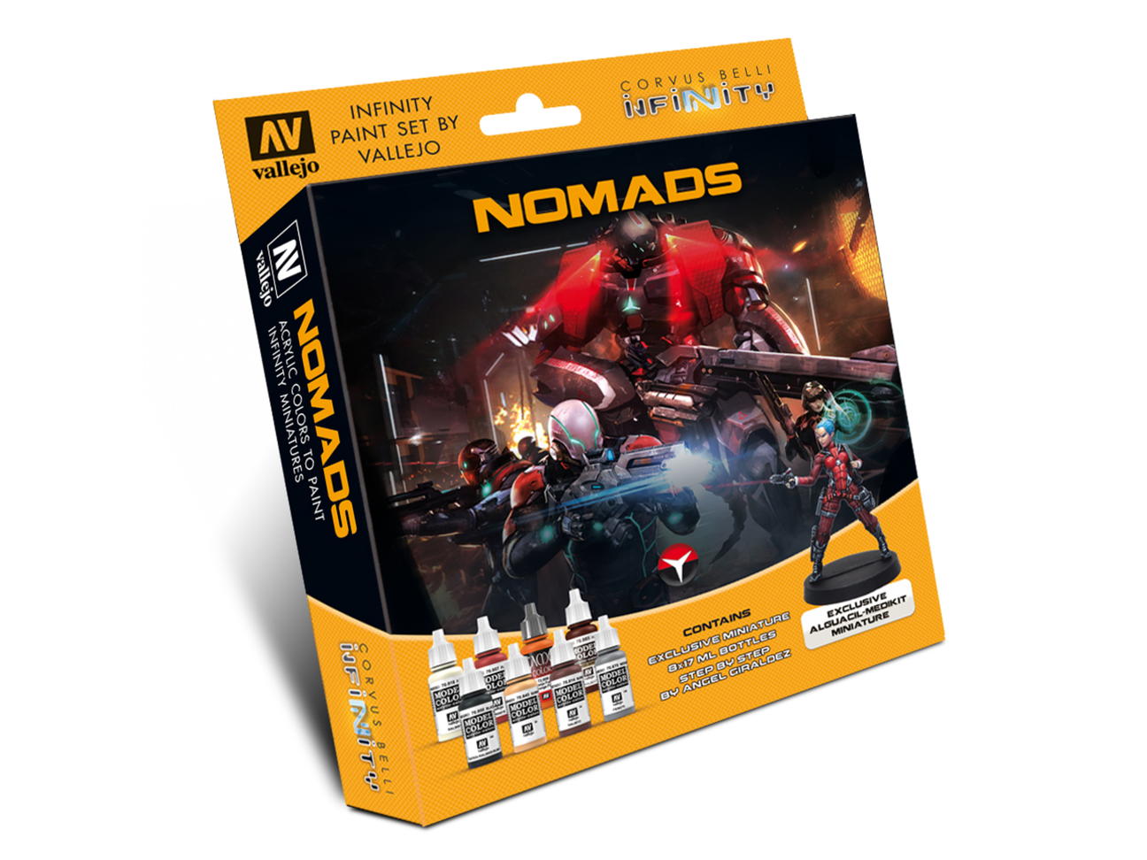 Model Color Set: Nomads Exclusive Miniature