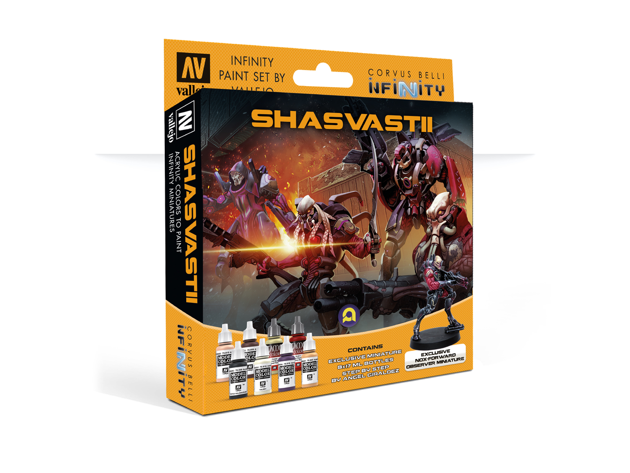 Model Color Set: Infinity Shasvastii Exclusive Miniature