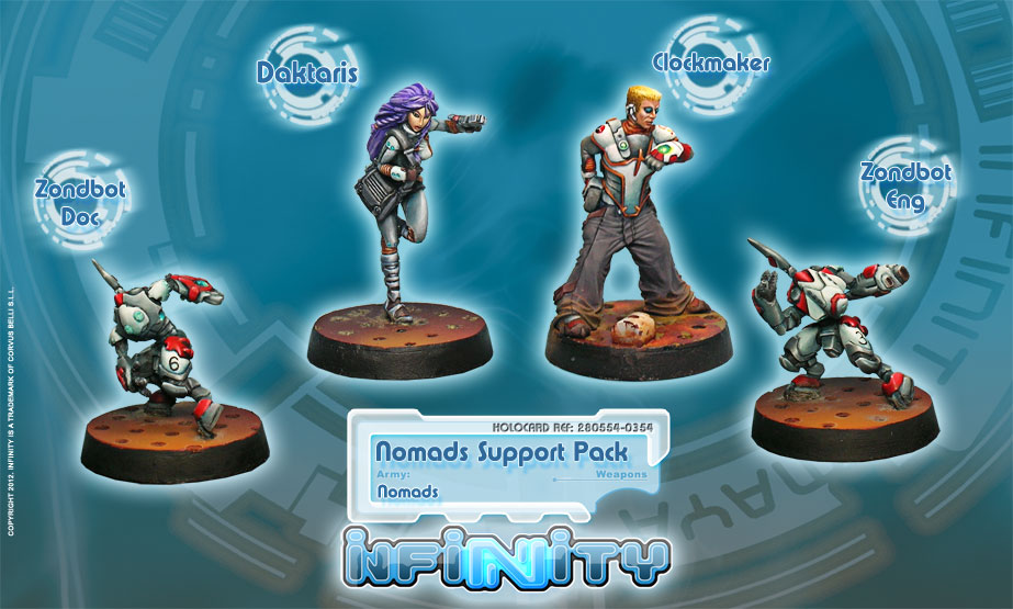 Nomads Support pack