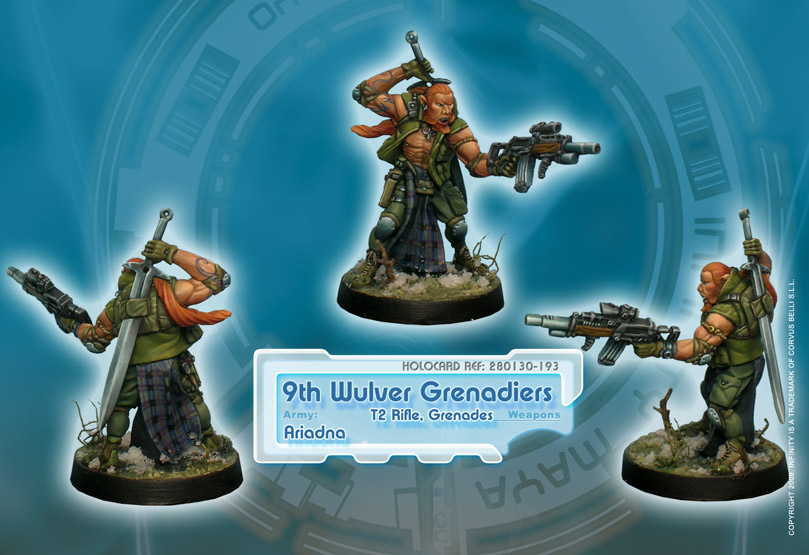 9th Wulver Grenadiers (T2 Rifle)