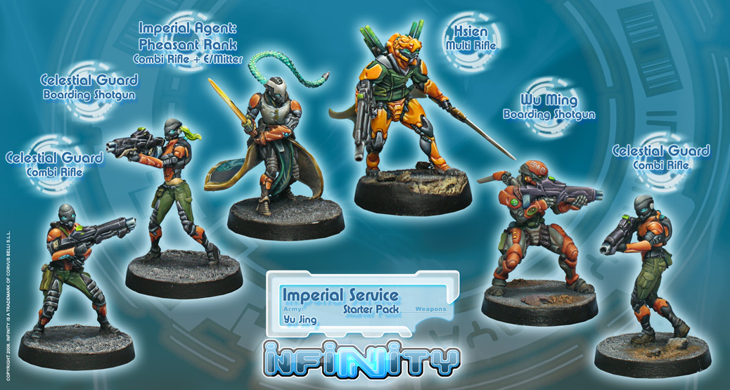 Imperial Service (Yu Jing Sectorial Starter Pack)