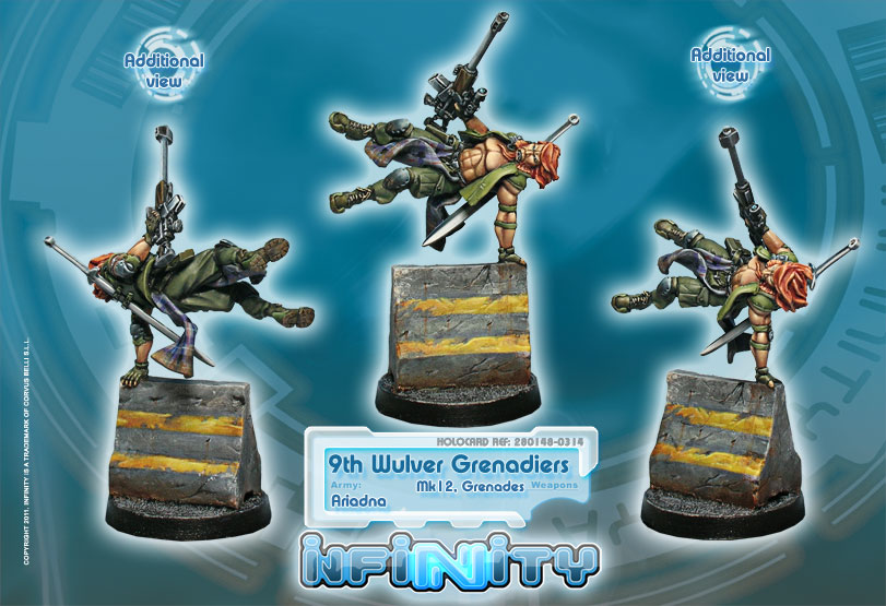 9th Wulver Grenadiers (Mk12)