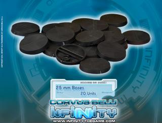 Infinity 25mm Bases